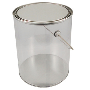 packing factory empty packing tin can compressed t-shirt