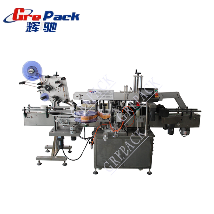 high labeling accuracy fill in corn oil 3 side self-adhesive labeling machine