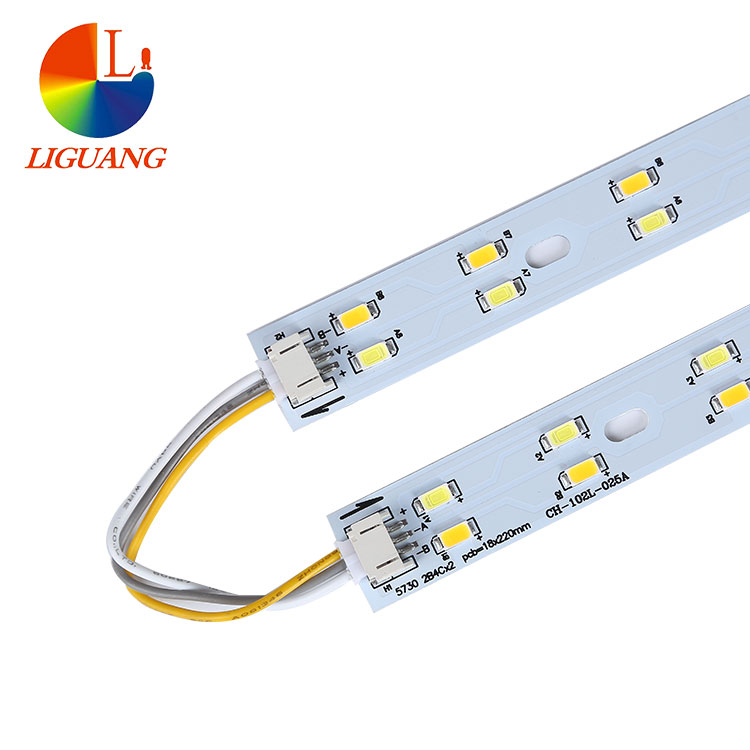 Free sample SMD5730 rgb cheap led strips light with aluminium profile for led strips