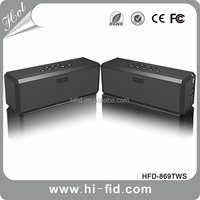 True stereo DSP Wireless Bluetooth Speaker support muti- connectivity