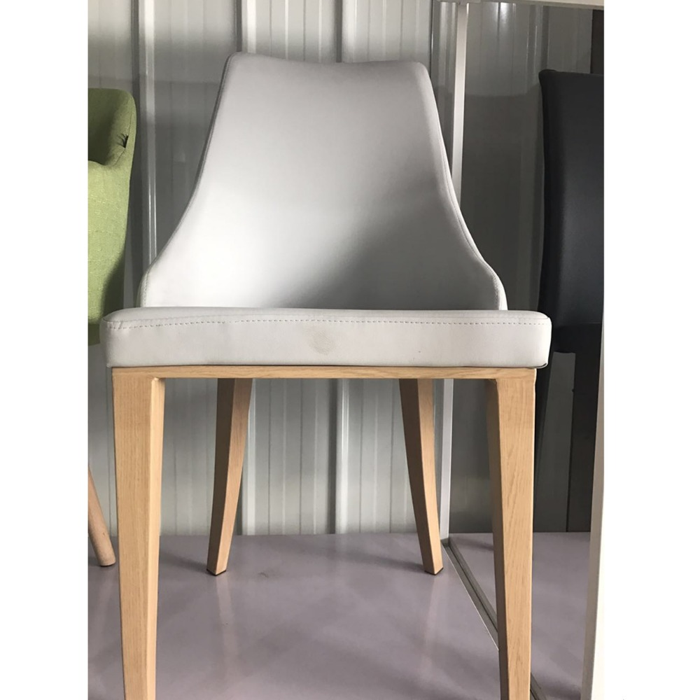 Cheap Modern Leather Kitchen Dining Chairs(Factory Manufacturer)
