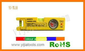 plastic material measure 360 degree freely Torpedo level YJ-TL10