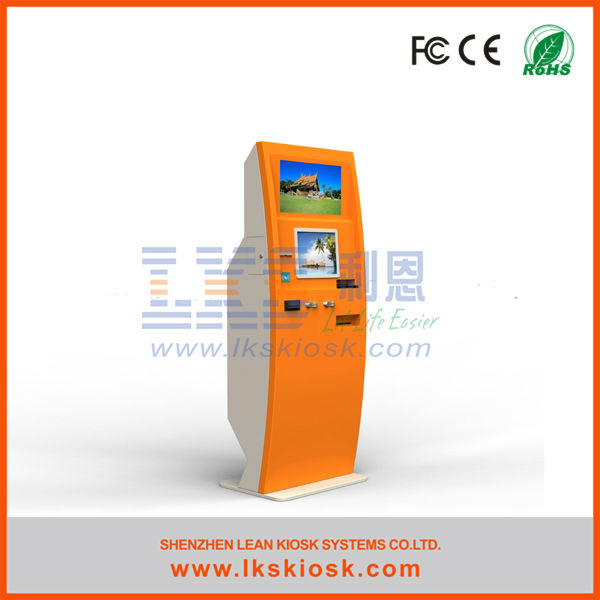 LKS parking ticket machine with bill validator