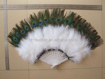 ms barato gran tamao abanico de plumas para la decoracin