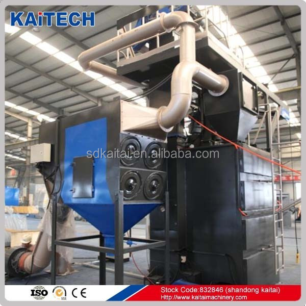 carbnet sand blasting machine shot peening to avoud dust rust removal