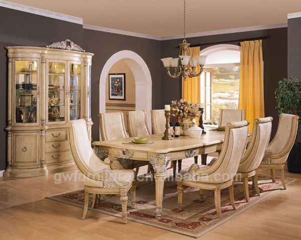 Solid Wood Light Color Dining Table Suppliers And Manufacturers At Alibaba