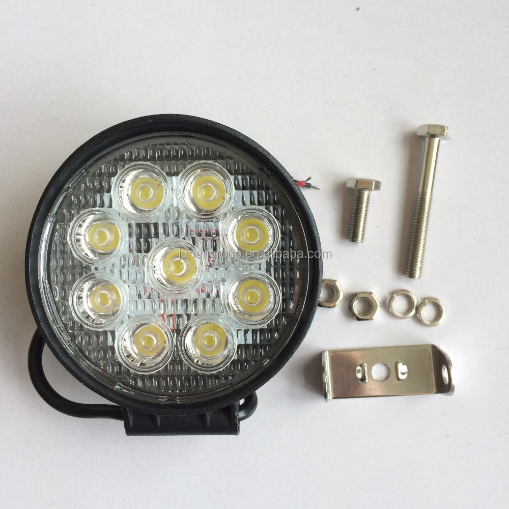27W Work Light for Hisun Dinli Buyang Kazuma ATV Go kart UTV LED Head Light