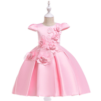 New Model Kids Clothes Baby Girls Dress Princess First Birthday Dress For Baby Girl L5070