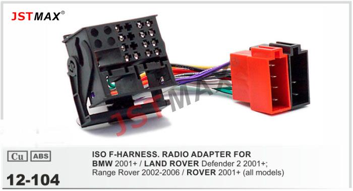 Bmw 3 Series 2001 2002 E46 Iso Radio Wiring Harness Adaptor