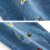 PHB 14219 cartoon embroidered cute design children boys denim jeans pant