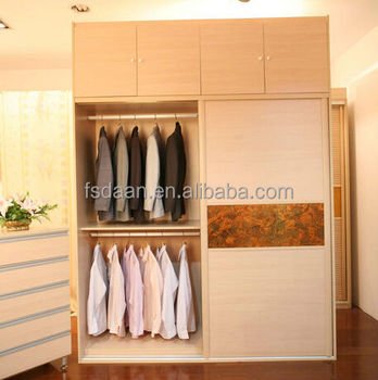 Modern Bedroom Closet Wood Wardrobe Cabinets With Drawers - Buy ...
