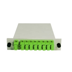 1x2,1x4,1x8,1x16,1x32 1x64 Fiber Optic PLC Splitter LGX box