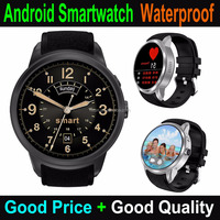 "Cheapest Factory 1.39"" Android 5.1 Smart Watch With Heart-rate Monitor Android Watch IP67"