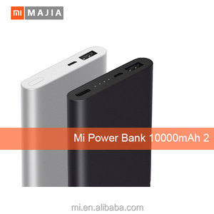 New original mi 10000mAh 2 Power Bank usb charger for mobile phone and digital devices