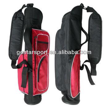 Soft Nylon Golf Club Carry Bag