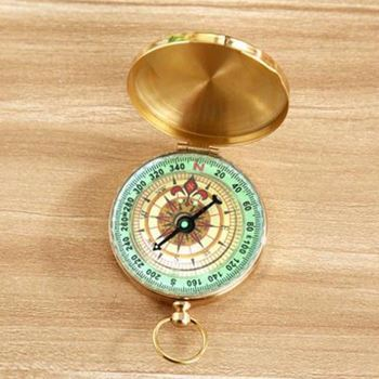 Bright Gold color compass ,soh7qn Camping Accessory Popular Bulk Compass For Wholesale