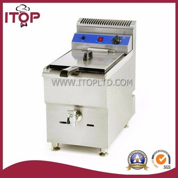 18L Gas fryer with temperature control
