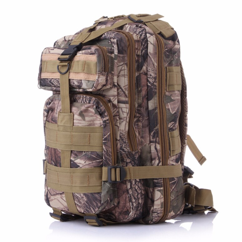 Cheap 1000D Cordura Nylon Waterproof Hiking Trekking Survival Molle Camouflage Tactical Military Backpack