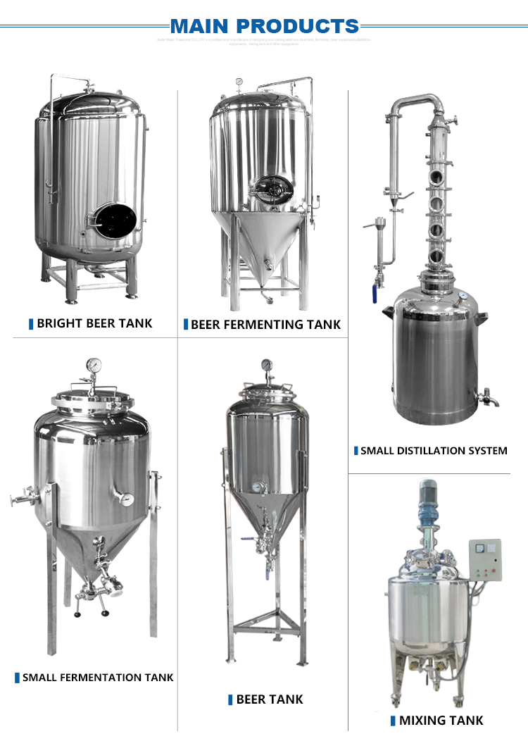 2019 Hangzhou Buda Brand New 100 liter conical fermenter