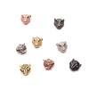 Wholesale Design Head Leopard Accessories for Jewelry Making Charms DIY