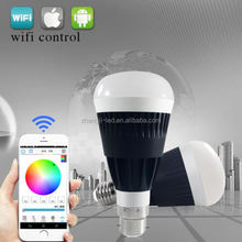 hot product trends,Free APP,2.4g wifi led bulb chip 9w alu good feedbacks