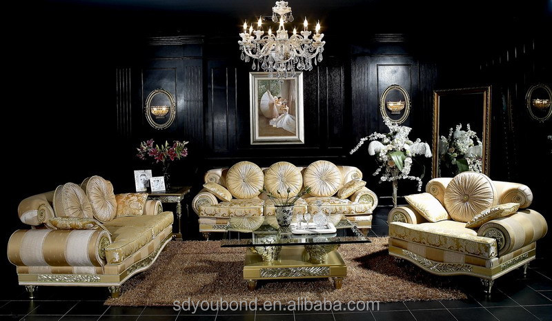 10020 Italian Luxury Living Room Furniture Royal Palace Classic Sofa