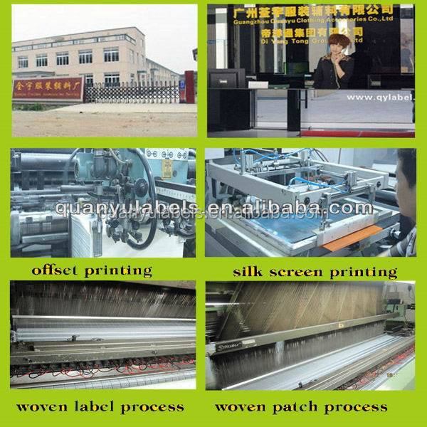 High Quality Clothing Labels/ Main Neck Wash Care Label Printing ...