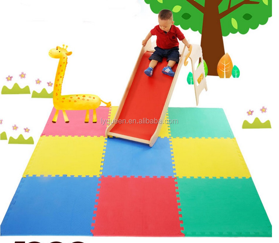 Rubber floor mats baby - 60x60cm Colourful Rubber Eva Sheet Joint Bate Baby Floor Mat Price