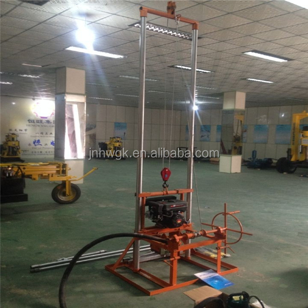 Adequate Inventory!!! Mini Water Well Drilling Machine Driven By Gas Oil For Farm Irrigation Wells Drilling