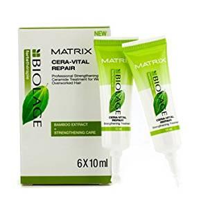 Matrix - Biolage Fortetherapie Cera-Vital Repair Strengthening Treatment (For Professional Use Only) - 6x10ml/0.33oz