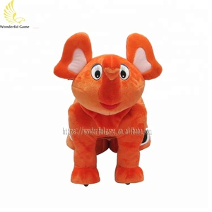 coin operated battery rides animal walking toy plush rides game machine for mall