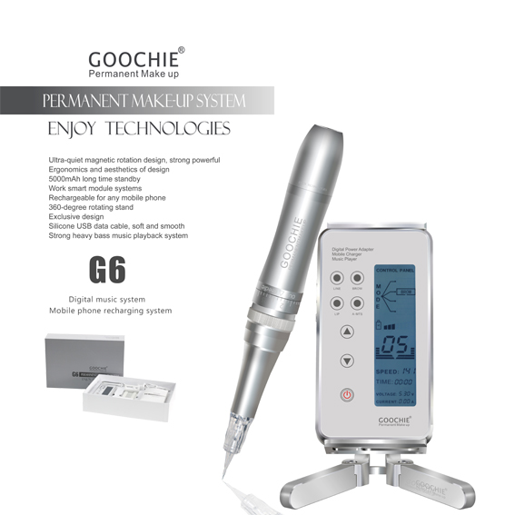 Goochie neue G6 Digitale permanent make-up tattoo maschine