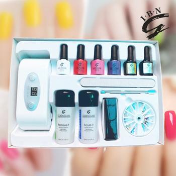 Nail Colors Uv Led Light Gel Nail Polish Kit