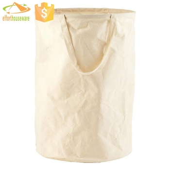 Pe Mixture Canvas Laundry Wash Bag
