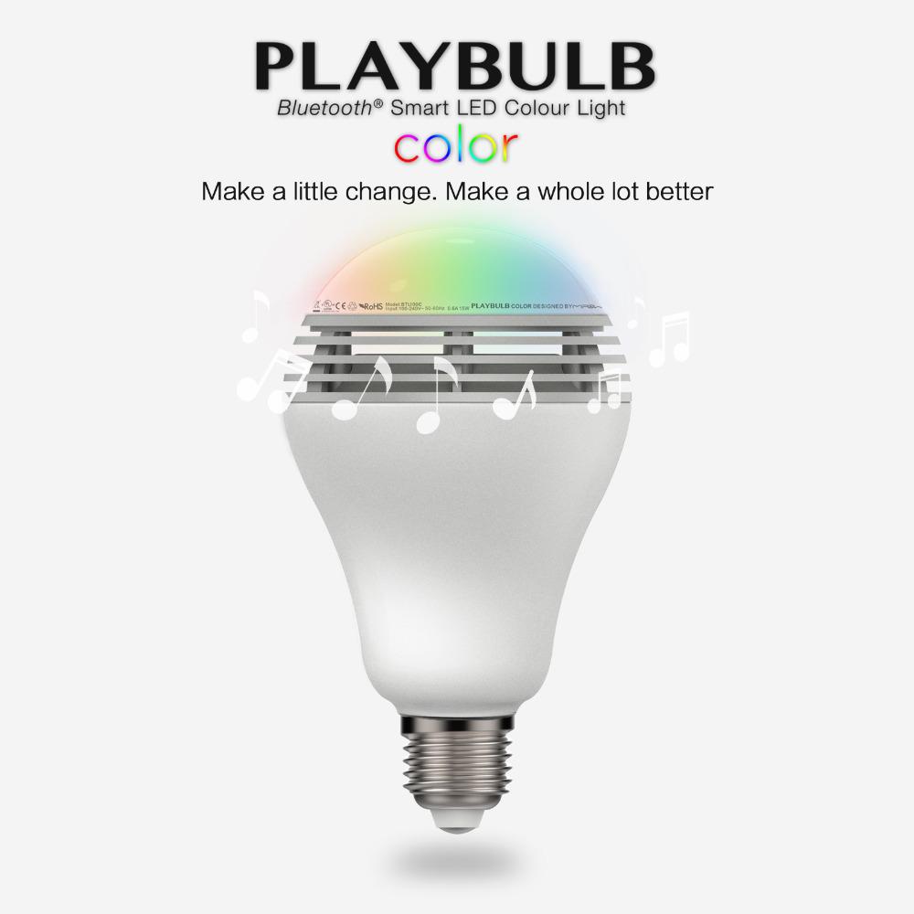 Aliexpress Com Buy Mipow Playbulb Bluetooth Speaker
