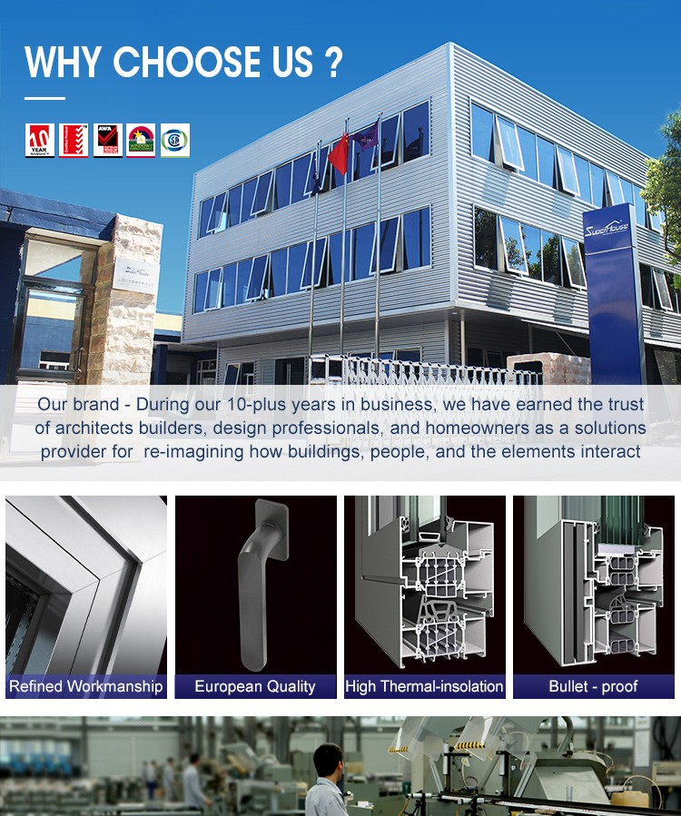 China suppliers double glazed aluminium folding windows australia standard