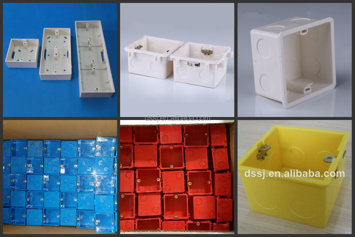 Manufacturer Pvc Electrical Squared Wall Switch Box 4x4 - Buy ...