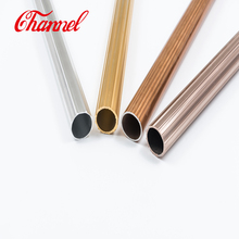 Customized 6063 Anodized Tapered Aluminum Tube
