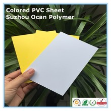 Thin Die Cutting Folding Box Colorful 0.25mm PVC Sheet
