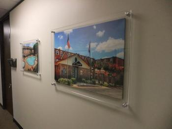 Custom Wall Mounted Acrylic Photo Frames Buy Wall