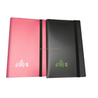 4-pocket OEM customized colorful/silk print/ CMYK card binder card album with size 7.1*9.7cm