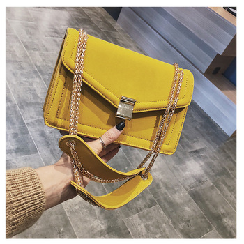 2018 Trendy Mini Elegant High Quality Crossbody Leather Women Messenger Chain Bags