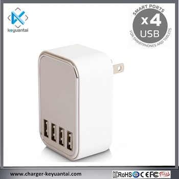 Cell phone fast 4USB Travel Adapter wall USB Ports charger