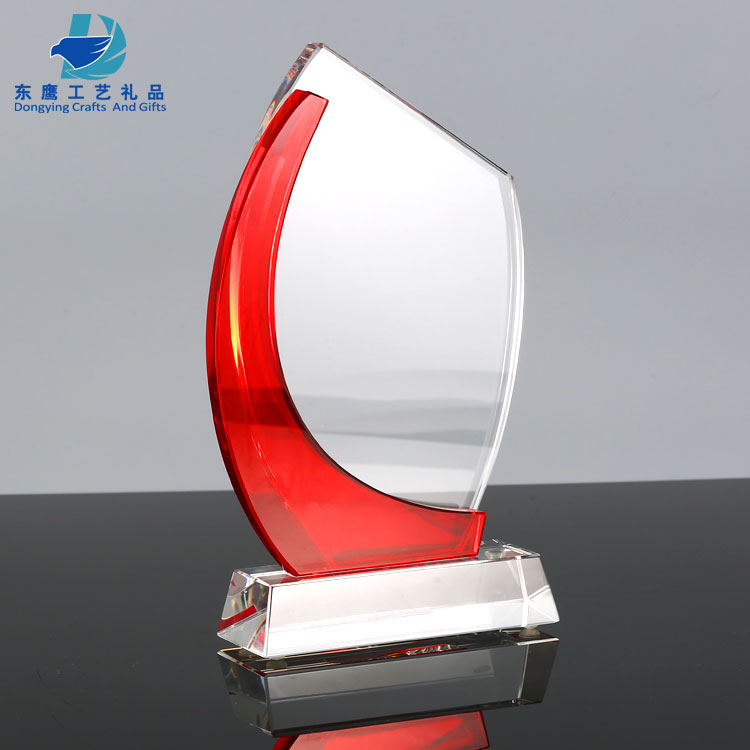 Custom Employee Glass Crystal Personalized Corporate Awards