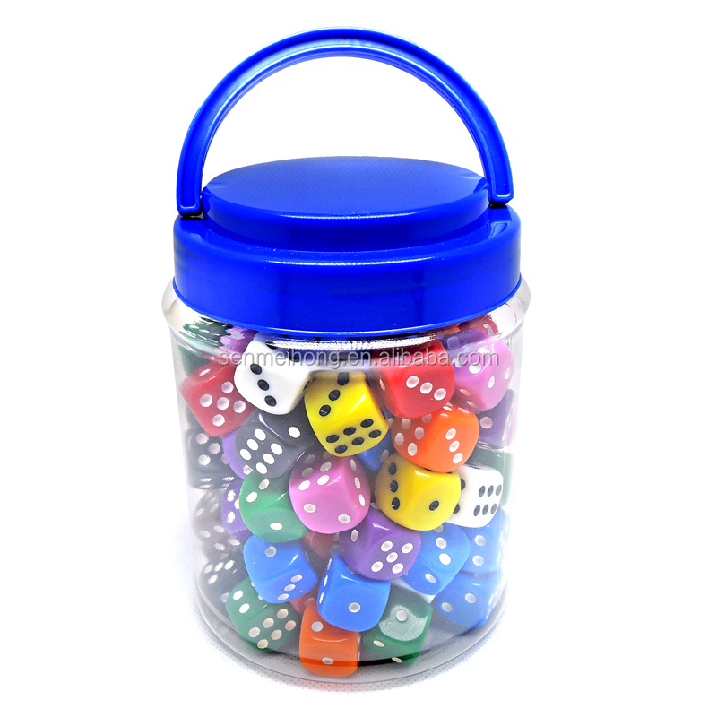 Customize logo dice and Different pack party lrc game dice