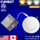 Canada ETL 12V 6W 9W 12W 15w led recessed ceiling panel light with ic rated driver box