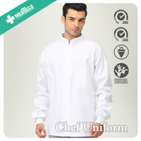 Professional Restaurant Cook Uniform Design And Chef Jacket
