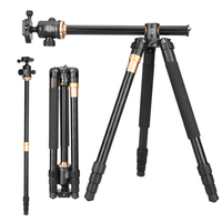 Q999H camera tripod with monopod and ball head tripod kit for dslr