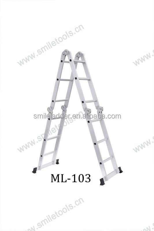 4*3 ladder hinge 3.7M Multi purpose ladder decorative bamboo ladder