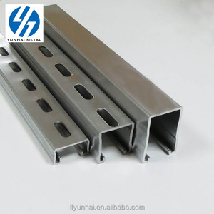Hot selling galvanized beam steel U channel price strut channel cold formed steel C channel